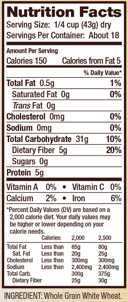 Image result for bulgur wheat nutrition facts