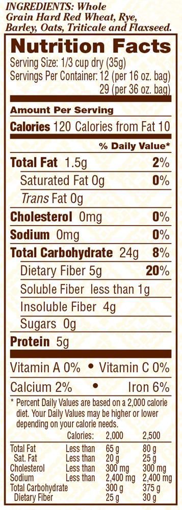 5 Grain Rolled Cereal Bob S Red Mill Natural Foods