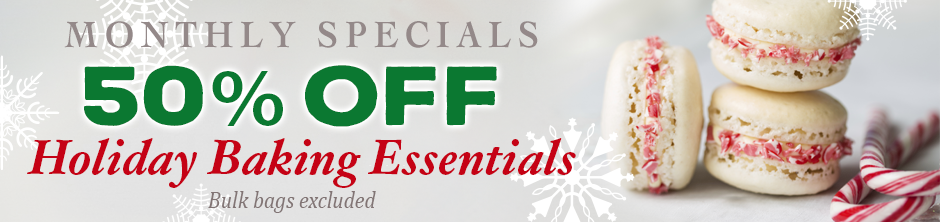 Monthly Specials - Save 50%