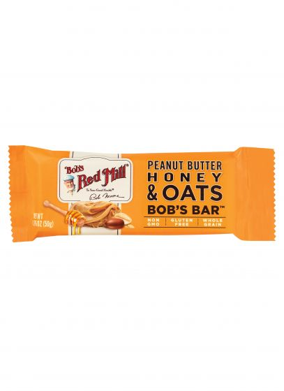 Peanut Butter Honey & Oats Bob's Bar