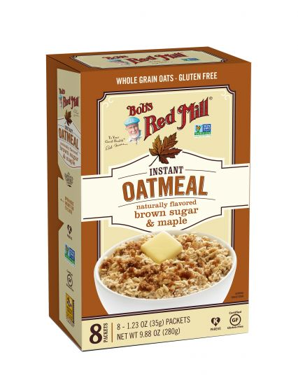 Brown Sugar & Maple Instant Oatmeal