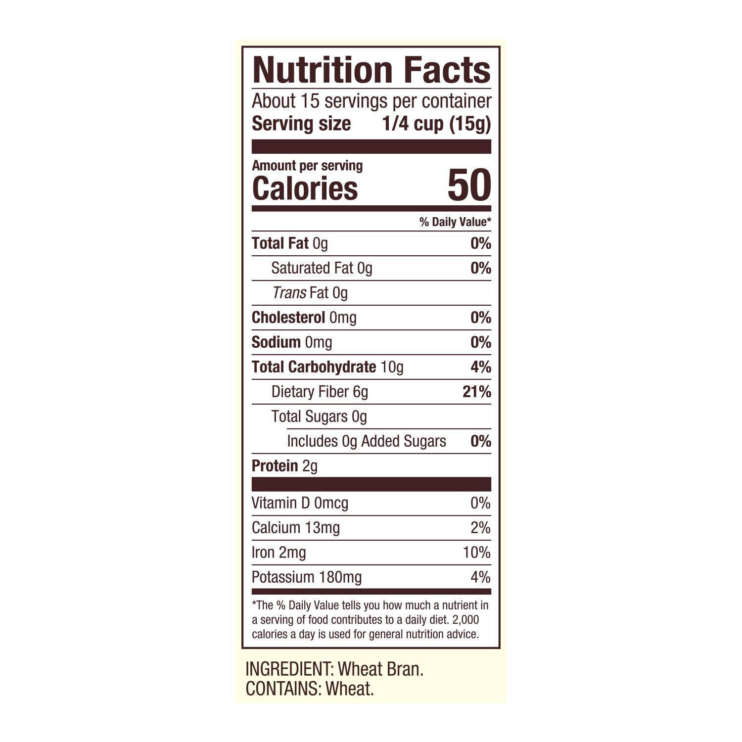 Wheat Bran   Bob's Red Mill Natural Foods