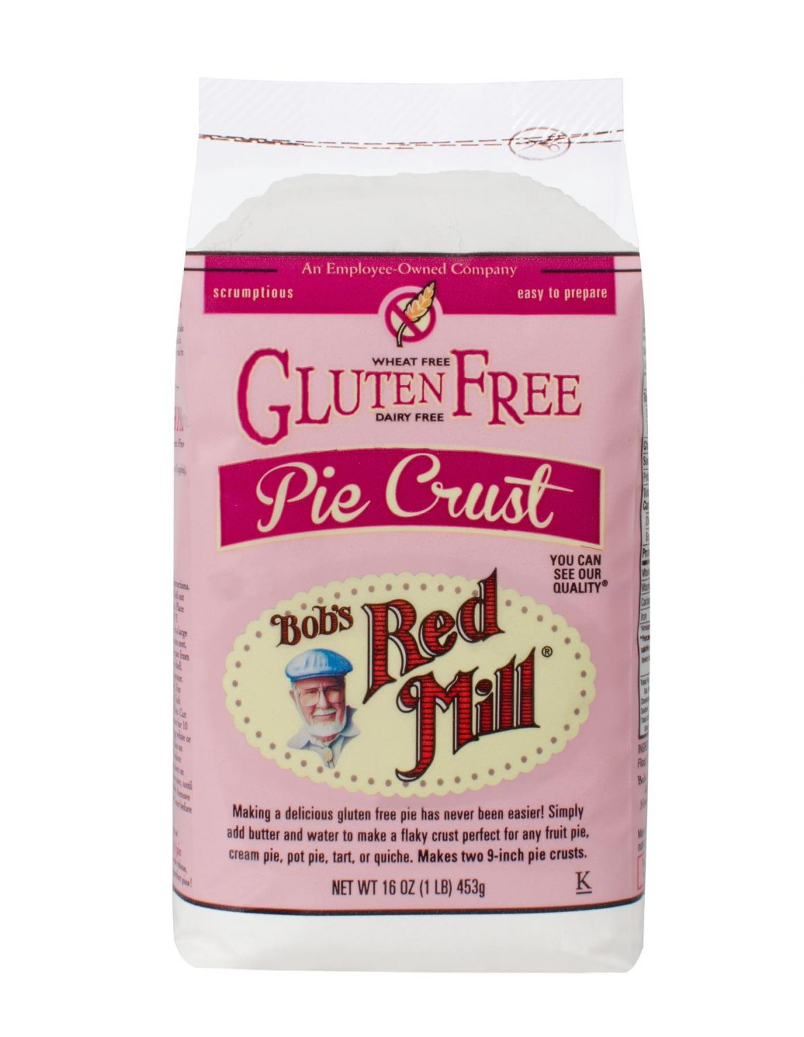 Buy Gluten Free Pie Crust Mix | Bob's Red Mill Natural Foods