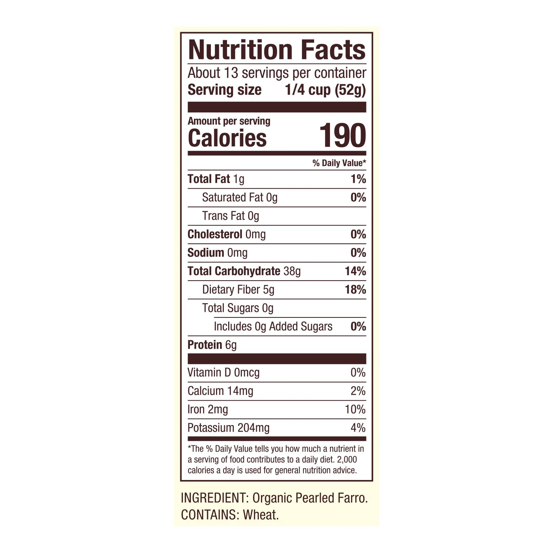 Buy Organic Farro - Full of Nutritional