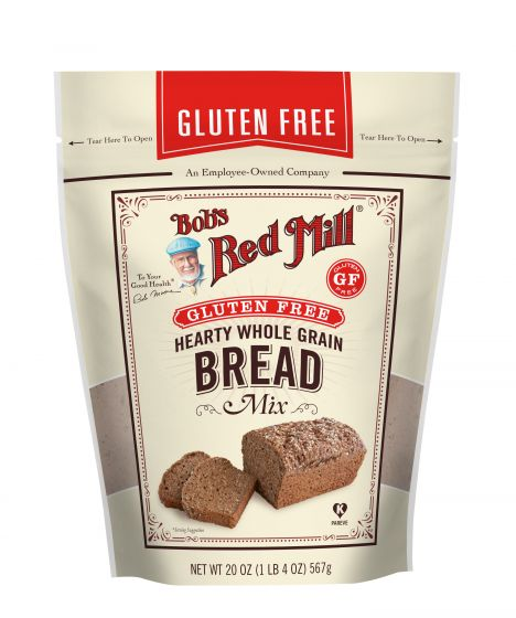 Gluten Free Hearty Whole Grain Bread Mix