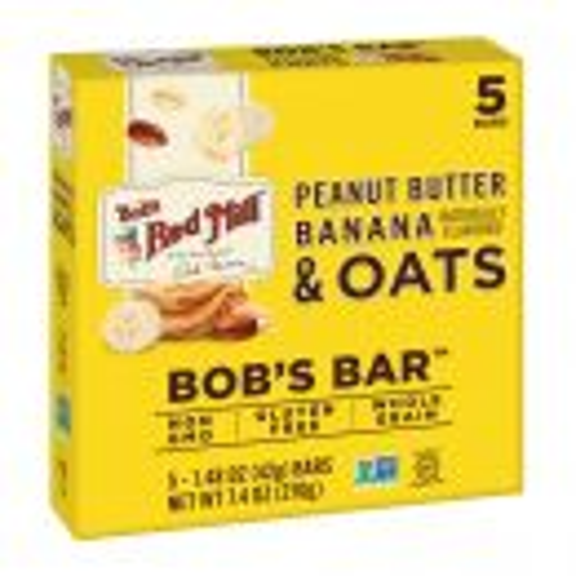 Peanut Butter Banana & Oats Bob's Bar Multipack