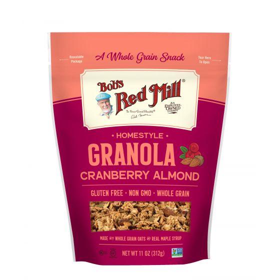Cranberry Almond Homestyle Granola