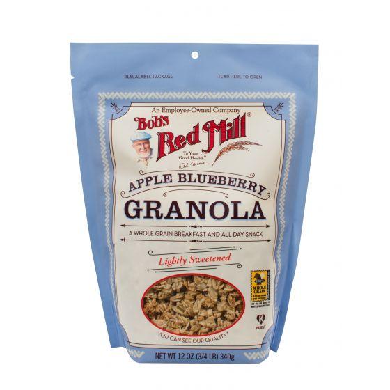 Apple Blueberry Granola