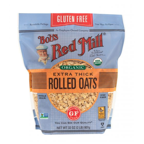 Gluten Free Organic Extra Thick Rolled Oats