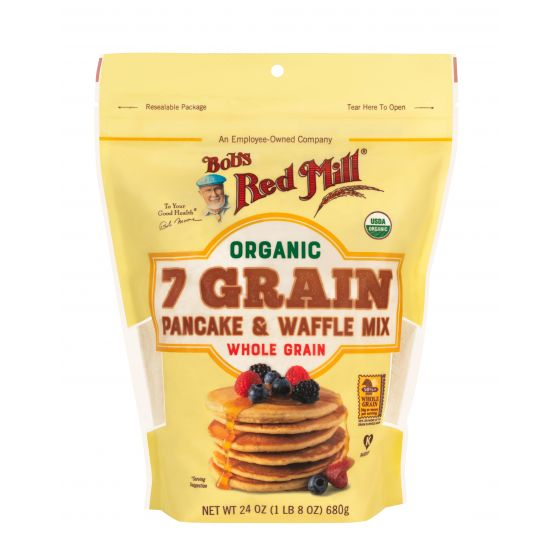 Organic 7 Grain Pancake & Waffle Mix