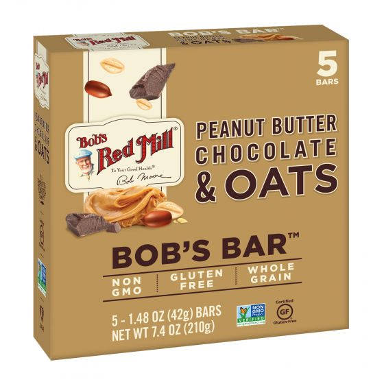 Peanut Butter Chocolate & Oats Bob's Bar Multipack