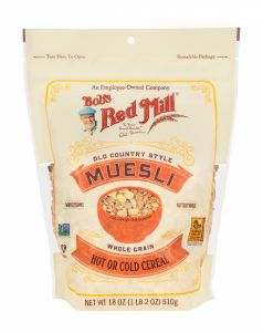 Old Country Style Muesli Front