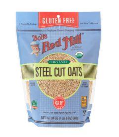 Gluten Free Organic Steel Cut Oats