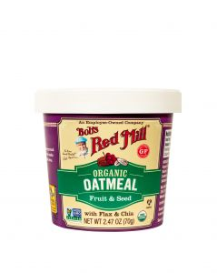 Organic Fruit and Seed Oatmeal Cup