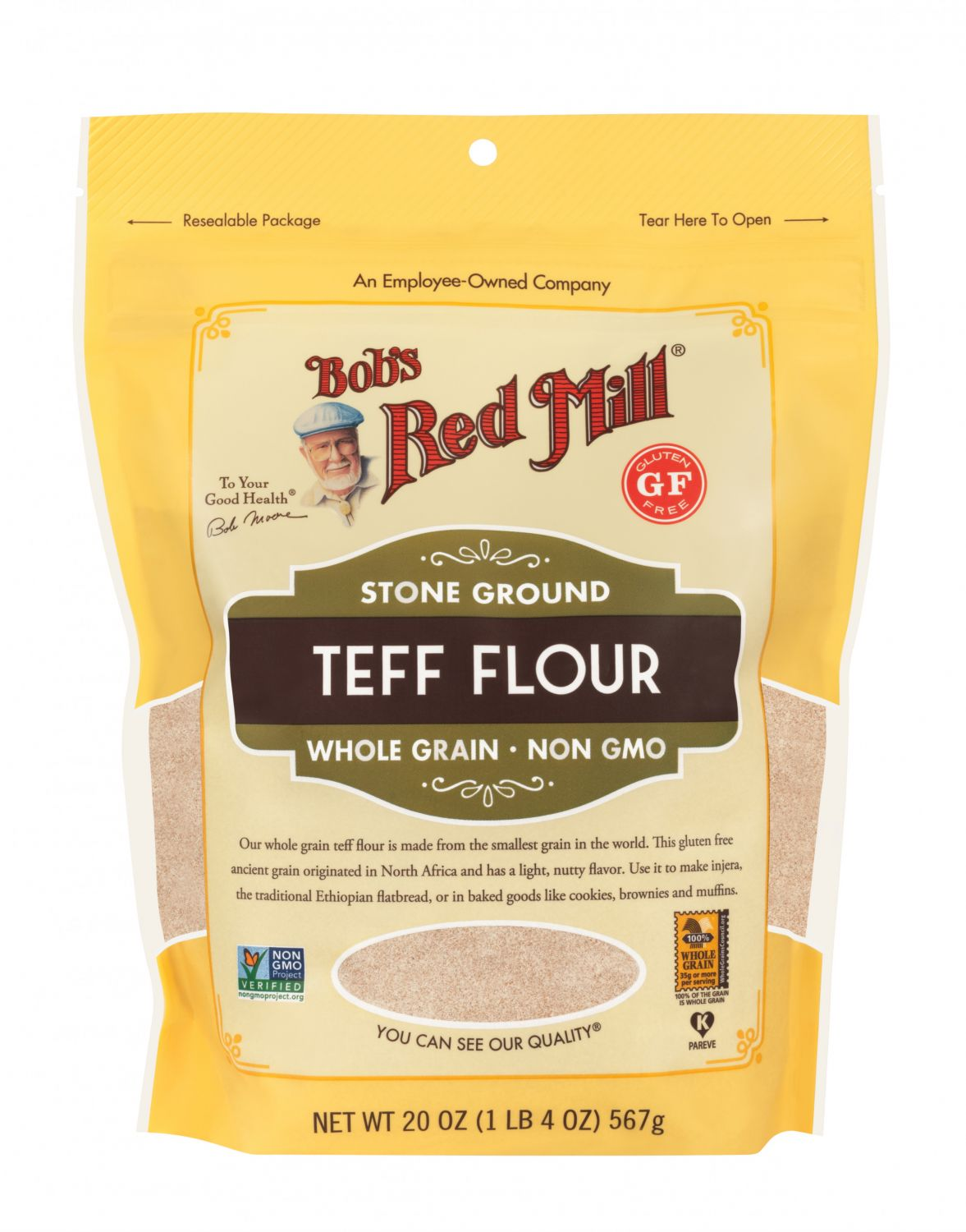 Teff Flour | Bob's Red Mill Natural Foods