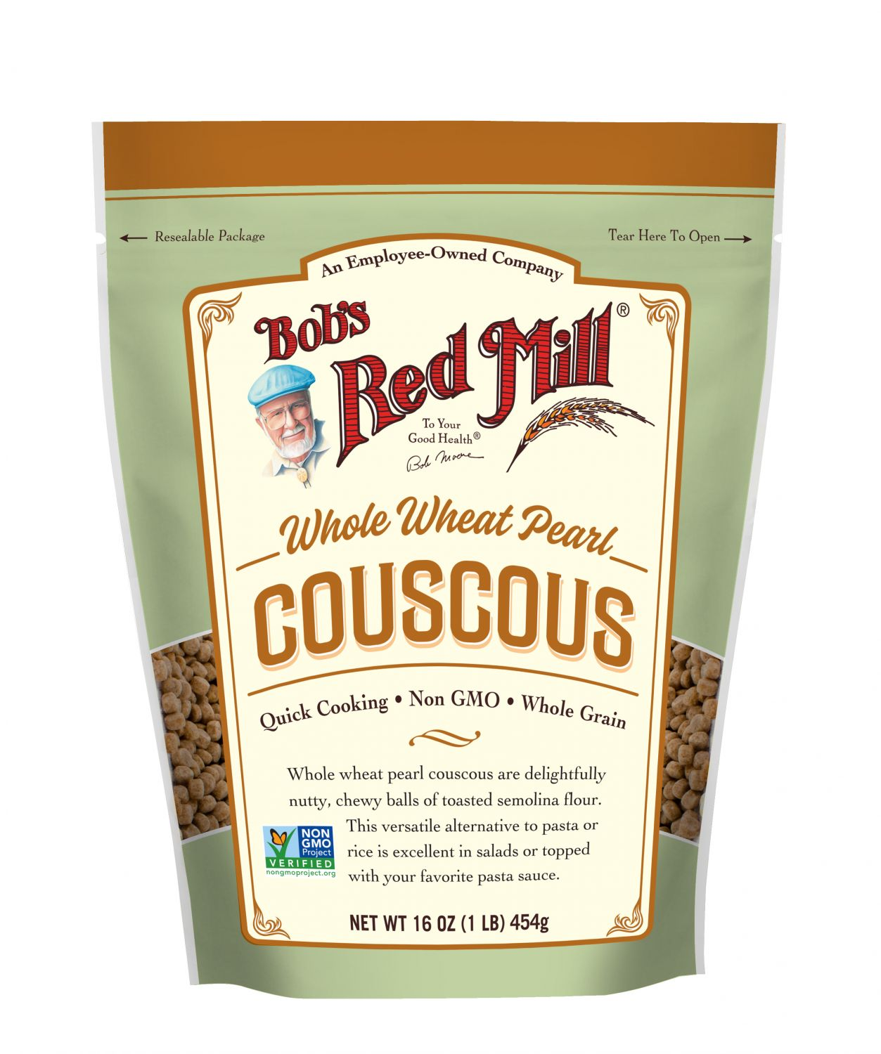 Whole Wheat Pearl Couscous Bob S Red Mill Natural Foods