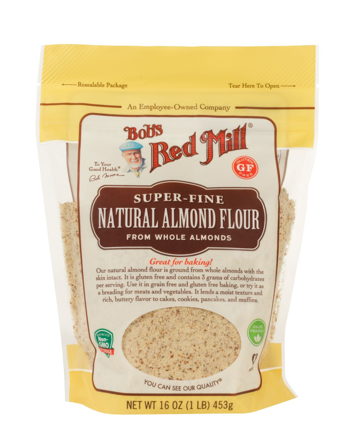 Almond Flour Extra Fine Unblanched Bob S Red Mill