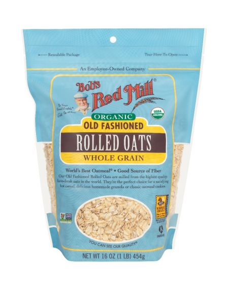 Organic Old Fashioned Rolled Oats