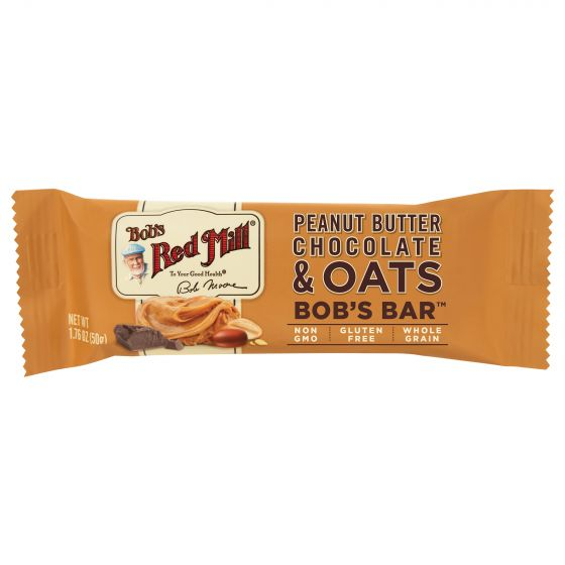 Peanut Butter, Chocolate & Oats Bar