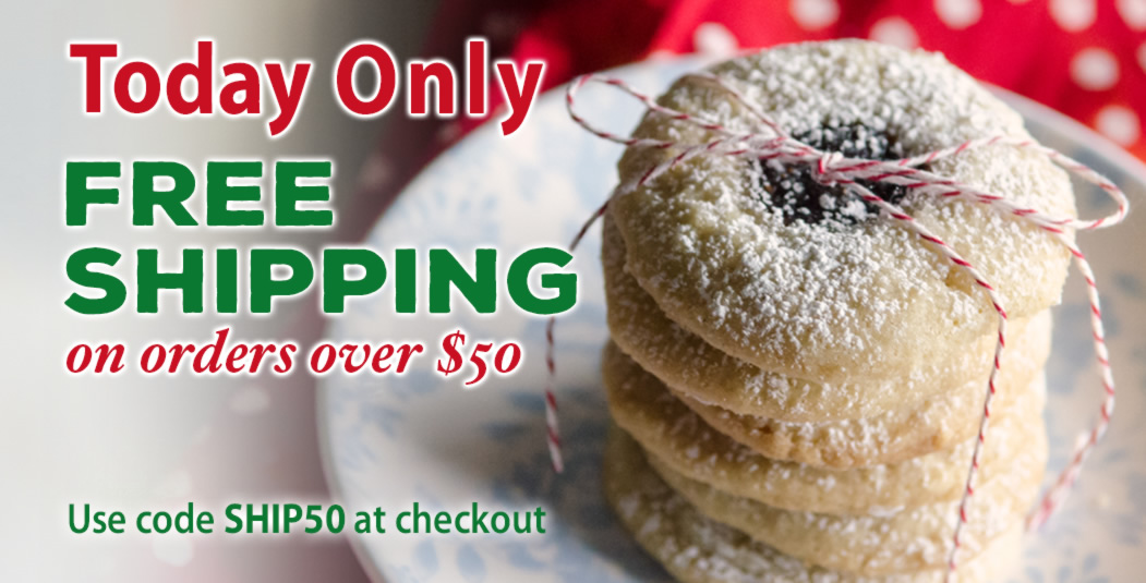 Today Only: Free Shipping on orders over $50.00 use code SHIP50.
