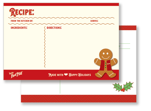 Recipe Cards Example