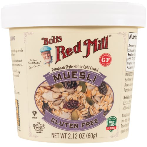 Gluten Free Muesli Cup
