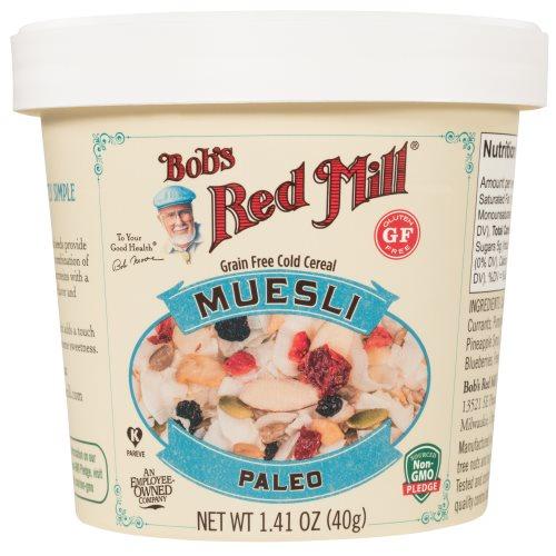 Gluten Free Paleo Muesli Cup