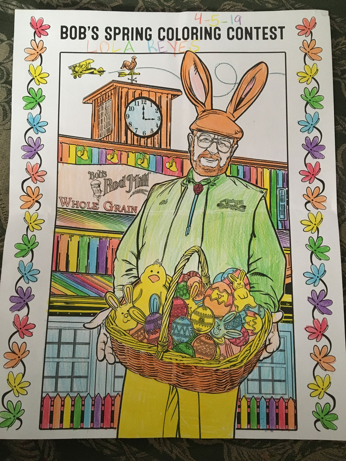 10 Spring Coloring Contest