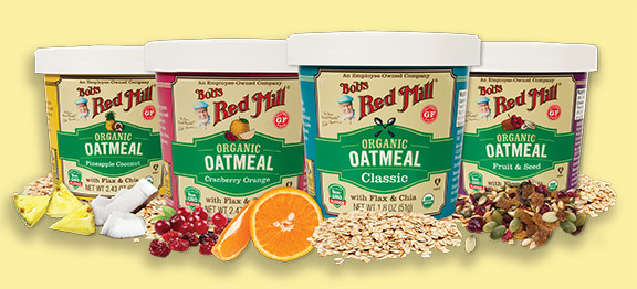 Bob's Red Mill New Organic Oatmeal Cups