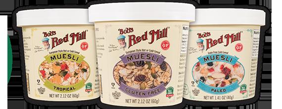 Bob's Red Mill Muesli Cups