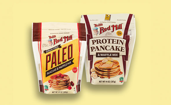 Bob's Red Mill New Pancake Mixes