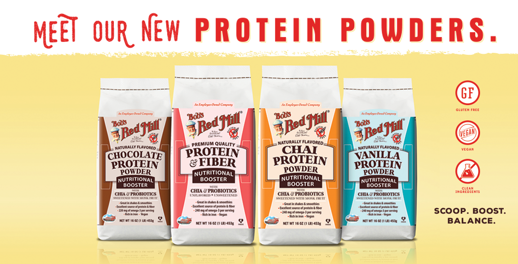 Meet Our New Protein Powders