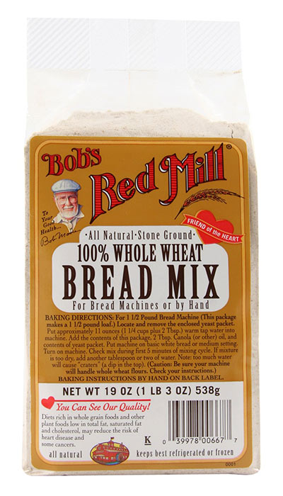 Whole Wheat Bread Mix