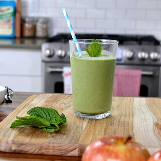 Apple Mint Smoothie